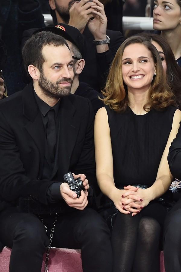 Benjamin Millepied e Natalie Portman (Foto: Getty Images)