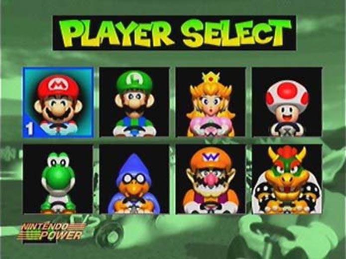 Kamek era um dos personagens do game (Foto: Reprodução/Nintendo Power)
