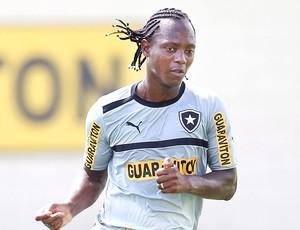 Andrezinho no treino do Botafogo (Foto: Alexandre Cassiano / Ag. O Globo)