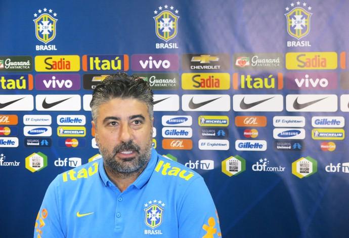 Gallo Seleção Brasileira (Foto: Felipe Schmidt)
