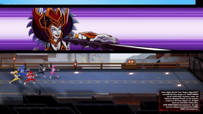 Power Rangers: Mega Battle (Foto: Reprodução/Felipe Vinha)