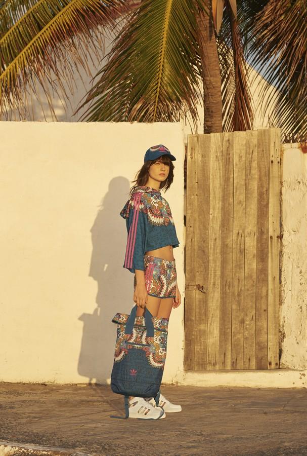 Adidas Originals e FARM lançam nova coleção  (Foto: Divulgação)
