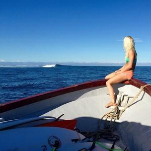 Tatiana Weston-Webb Fiji WSL surfe (Foto: Reprodução/Instagram)