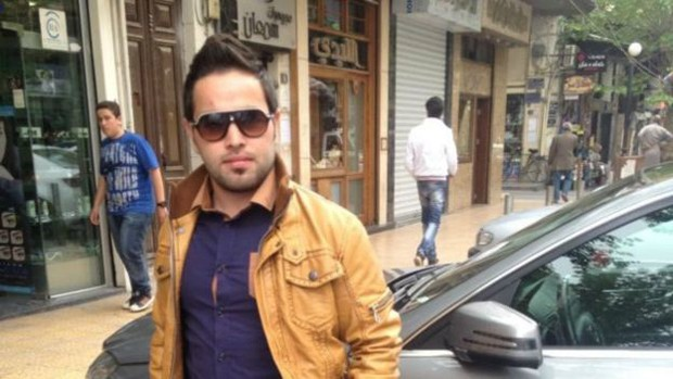 Abdo na época em que vivia em Aleppo, na Síria; ele perdeu trabalho, casa, amigos e parentes (Foto: BBC Brasil)