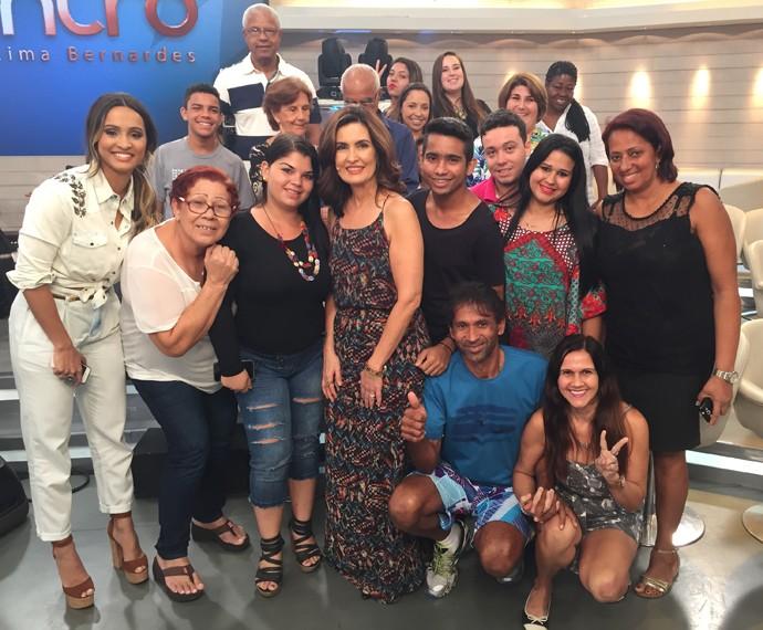 Mais plateia nos bastidores! (Foto: Viviane Figueiredo/Gshow)