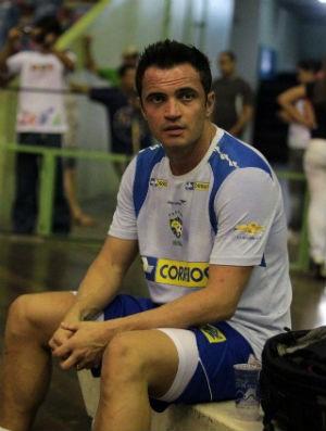 Falcão treina para amistoso da seleção (Foto: Zerosa Filho/CBFS)