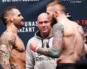 FOTOS: lutadores batem peso para o UFC VanZant x Namajunas