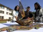'Lixo' retirado no monte Everest é transformado em obras de arte
