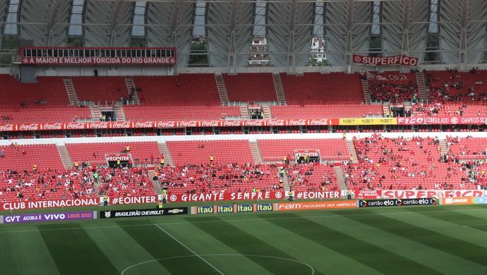 Internacional x São Paulo Inter Beira-Rio (Foto: Tomás Hammes/GloboEsporte.com)
