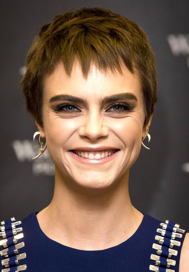 Sobrancelhas marcantes: Cara Delevigne (Foto: Getty Images)