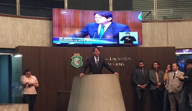 Cid Gomes na Assembleia Legislativa do Ceará