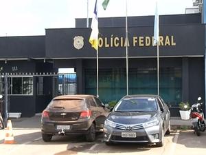 PF prende três suspeitos de fraudar o seguro-desemprego (Foto: Reprodução/TV Anhanguera)