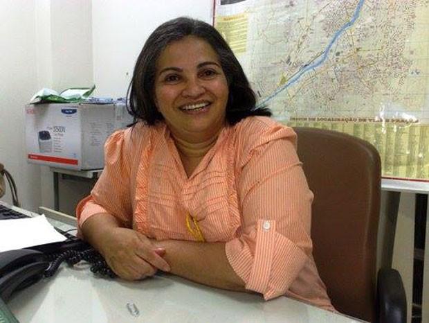 A juíza Antonia Marina Faleiros: quando criança, o maior desejo dela era ser vendedora em loja de departamentos  (Foto: Arquivo pessoal)