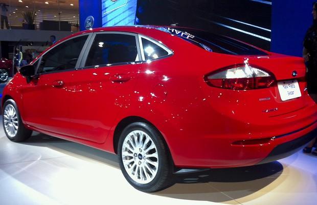Ford Fiesta Sedan (Foto: Ricardo Sant'Anna / Autoesporte)