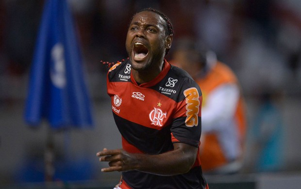 Vagner Love gol Flamengo x atlético-MG (Foto: Alexandre Loureiro / VIPCOMM)