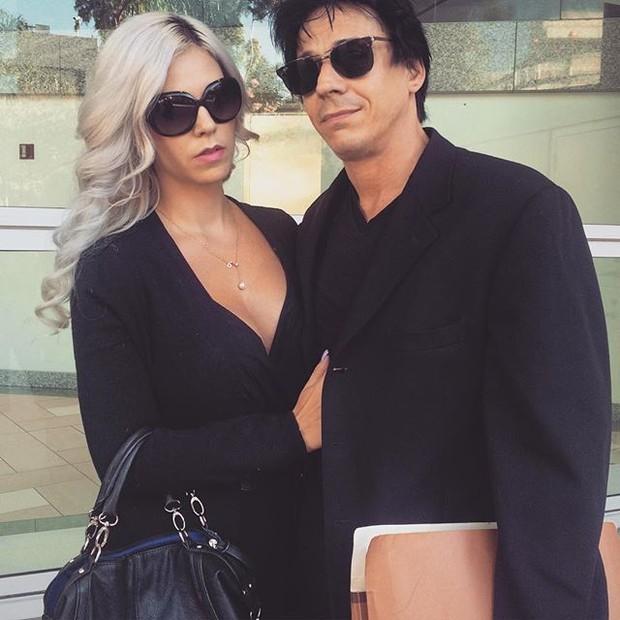 Mayra Dias Gomes e oamrido, Coyote Shivers (Foto: Reprodução/Instagram)
