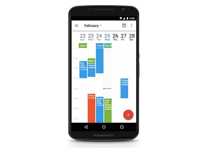 Google atualiza app Agenda com novas funcionalidades (Foto: Divulgação/Google)