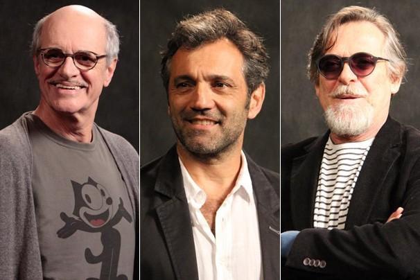Marcos Caruso, Domingos Montagner e José de Abreu voltam à telinha para a nova novela das seis (Foto: Nathalia Fernandes/Globo)