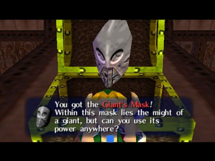 Giants Mask é conseguida derrotando um dos chefes do jogo (Foto: reprodução)