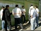 Funcionários de empresa da Cemig protestam contra demissões