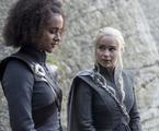 Nathalie Emmanuel e Emilia Clarke em 'Game of Thrones' | Divulgação/HBO