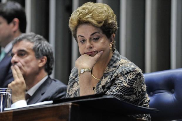 Impeachment de Dilma Rousseff foi aprovado pelo Senado (Foto: Jane de Araújo/Agência Senado)