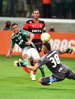 Gabriel Jesus Alex Muralha Palmeiras Flamengo