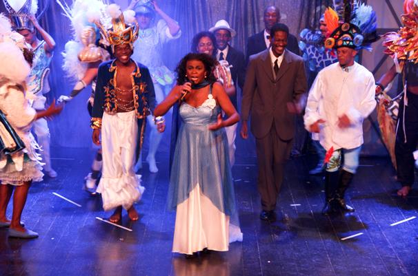 Cena da pré-estreia do musical (Foto: Luis Leite)