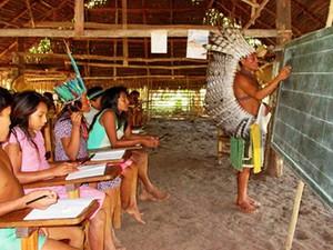 UEPA realiza seleção para alunos indígenas em Paragominas. (Foto: Divulgação/Uepa)