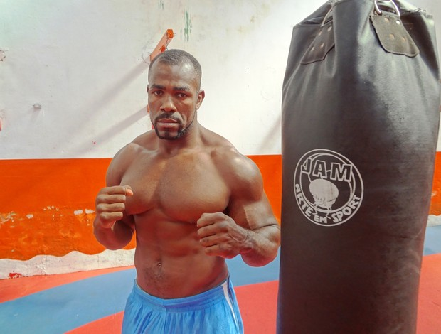 Mondragon se diz preparado para o UFC (Foto: GLOBOESPORTE.COM/PA)