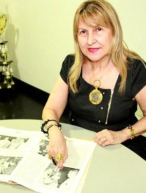 Hebe Pereira (Foto: Adeilson Albuquerque/GLOBOESPORTE.COM)