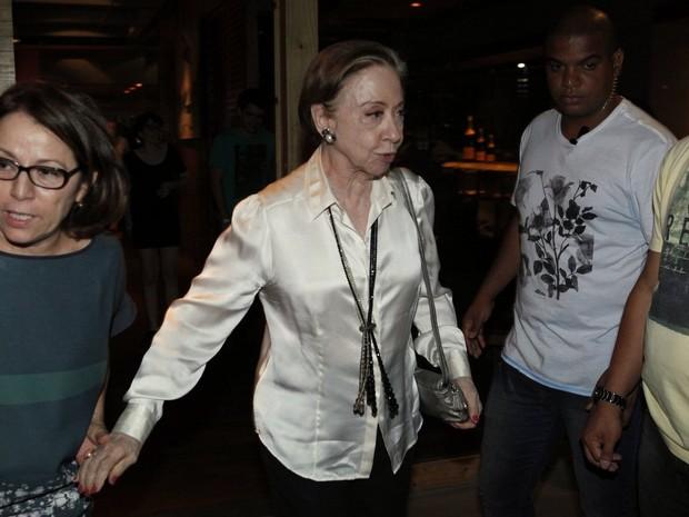 Fernanda Montenegro em festa no Rio (Foto: Marcos Serra Lima/ EGO)