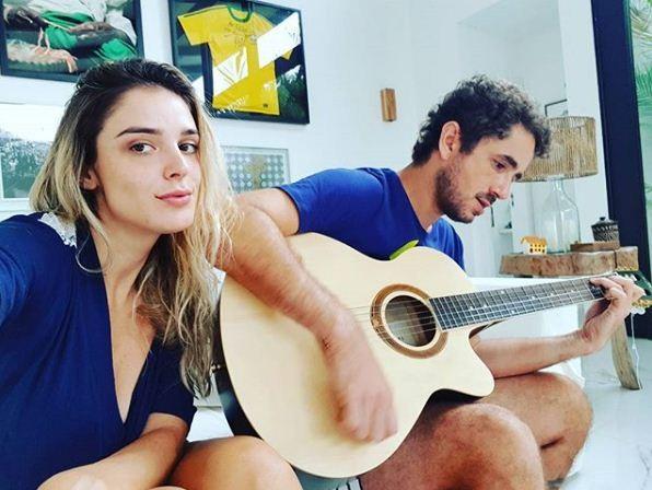 Rafa Brites e Felipe Andreoli (Foto: Reprodução Instagram)