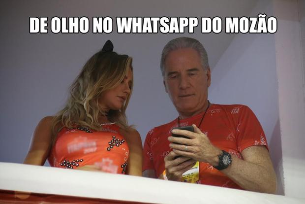 Memes do Desfile das Campeãs (Foto: Cleomir Tavares)