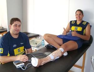 vôlei Natália seleção (Foto: Leonardo Velasco / Globoesporte.com)
