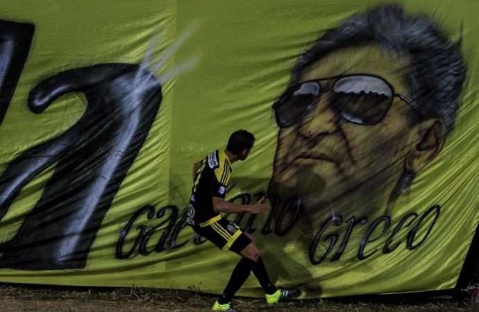 Edgar Greco Deportivo Táchira 2 x 1 Olimpia Libertadores (Foto: EFE)