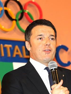 Matteo Renzi, Comitê Olímpico Italiano (Foto: Getty Images)