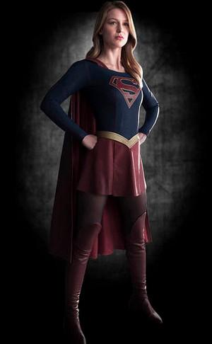 Melissa Benoist como 'Supergirl'  (Foto: Divulgação)