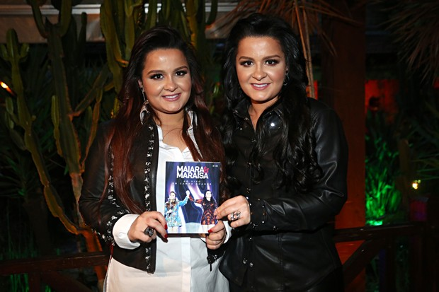 Lançamento do DVD da Maiara & Maraisa (Foto: Celso Tavares/EGO)