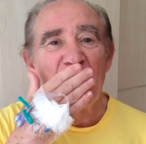 Renato Aragão (Foto: Reprodução/Instagram)