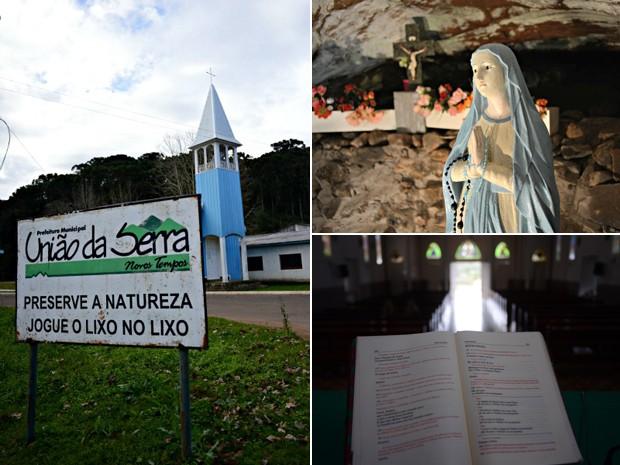 Capital da fé católica, RS (Foto: Luiza Carneiro/G1)