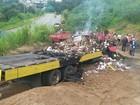 Caminhoneiro morre após acidente na BR-494 em Carmo da Mata