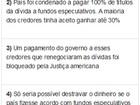 Bolsa da Argentina se recupera de 'tombo' após calote e fecha em alta