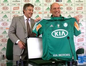 Paulo Nobre e José Carlos Brunoro Palmeiras (Foto: Marcelo Prado)
