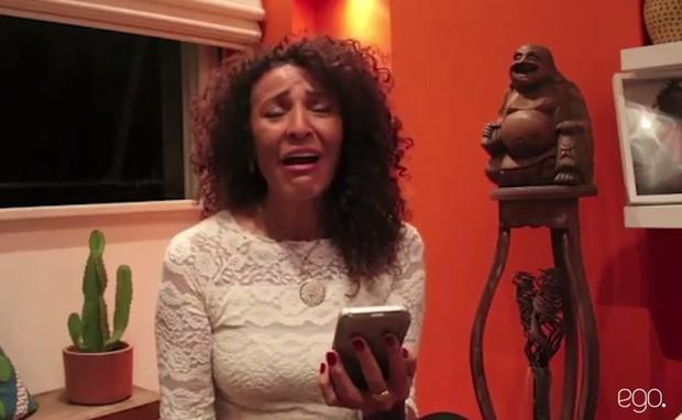 Reação da mãe de Sheron Menezzes ao saber da gravidez da filha (Foto: Reprodução/Instagram)