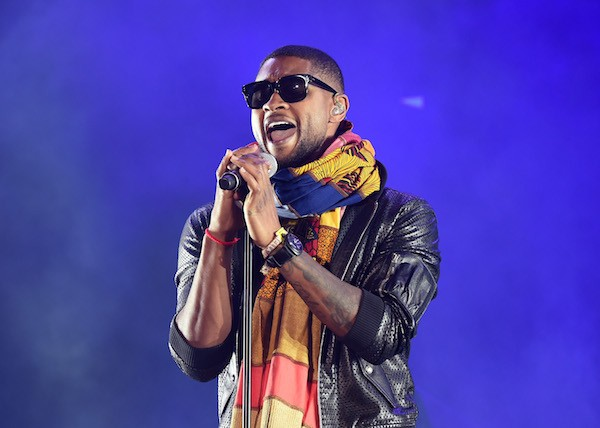 O rapper Usher (Foto: Getty Images)