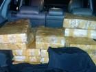 Polícia encontra 500 kg de maconha dentro de carro em Palhoça