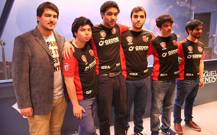Os chilenos da KLG se classificaram para jogar em casa contra a Pain (Foto: Reprodução/Felipe Vinha)