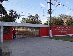 Entrada do Centro de Treinamento do Náutico (Foto: Elton de Castro/Globoesporte.com)