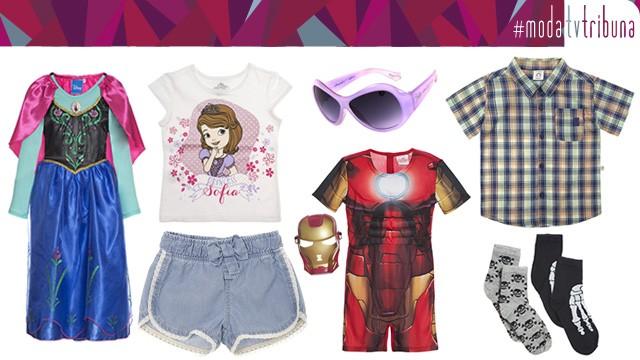 Dia das crianças cheio de estilo! (Foto: Divulgação / Riachuelo; Renner; Chilli Beans)